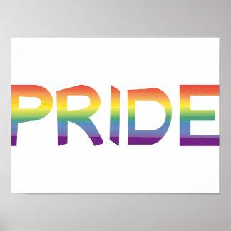 Rainbow Flag Pride Poster