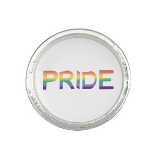 Rainbow Flag Pride Ring