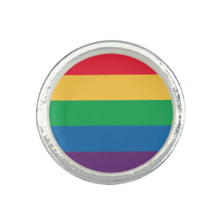 Rainbow Flag Pride Ring