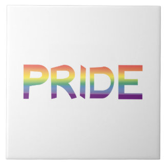 Rainbow Flag Pride Tile