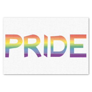 Rainbow Flag Pride Tissue Paper