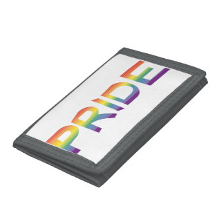 Rainbow Flag Pride Trifold Wallets