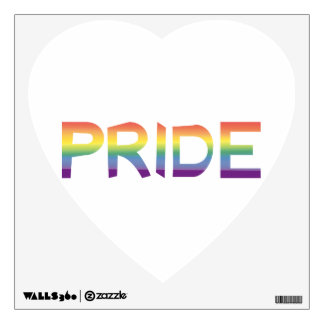 Rainbow Flag Pride Wall Decal