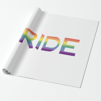 Rainbow Flag Pride Wrapping Paper