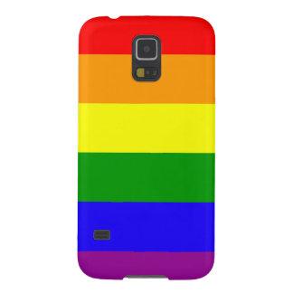 Rainbow flag Samsung case