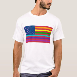 RAINBOW FLAG - SHOW YOUR COLORS! T-Shirt