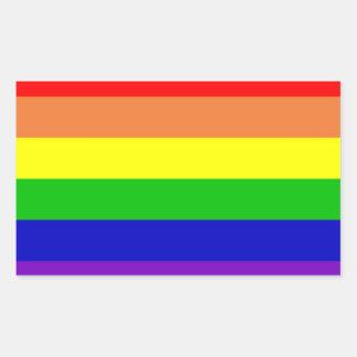 Rainbow Flag Sticker Set