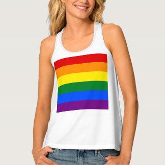 Rainbow Flag Tank Top