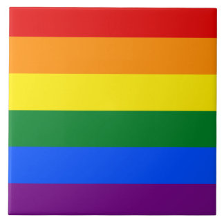 Rainbow Flag Tile