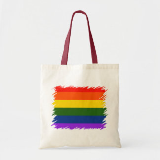 Rainbow Flag Tote Bag