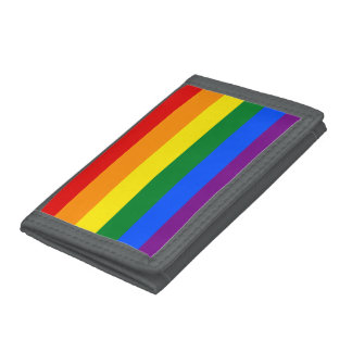 Rainbow Flag Tri-fold Wallet