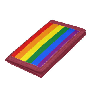 Rainbow Flag Trifold Wallet