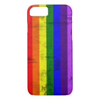 Rainbow flag vintage iPhone 7 case