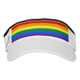 Rainbow Flag Visor