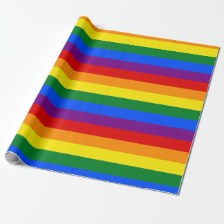 Rainbow Flag Wrapping Paper