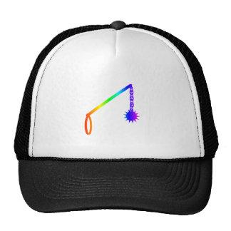 Rainbow Flail Trucker Hat
