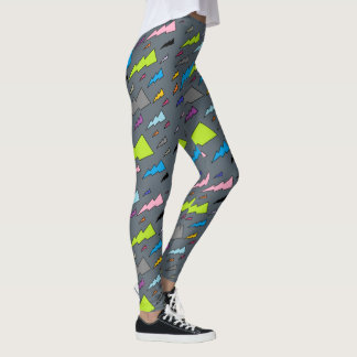 Rainbow Flashes Leggings