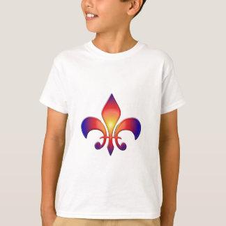 Rainbow Fleur de Lis T-Shirt