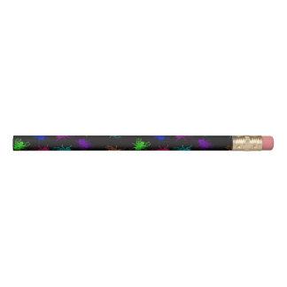 Rainbow Flies Black Pencil