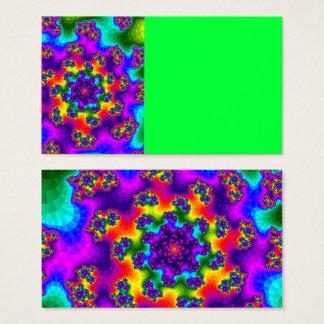 Rainbow Floral Sprinkles Business Cards