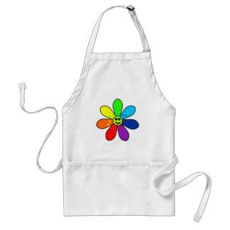 Rainbow Flower Apron