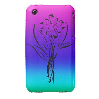 Rainbow Flower iPhone 3 Case-Mate Case