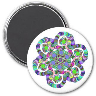 Rainbow Flower Magnet