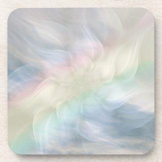 Rainbow Flower Mandala Coaster