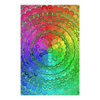 Rainbow Flower Mandala Flyer