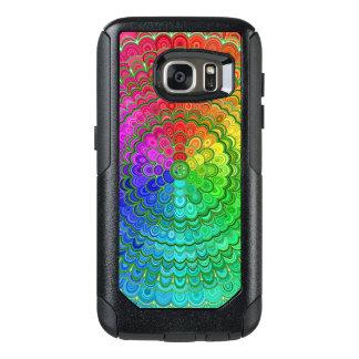 Rainbow Flower Mandala OtterBox Samsung Galaxy S7 Case