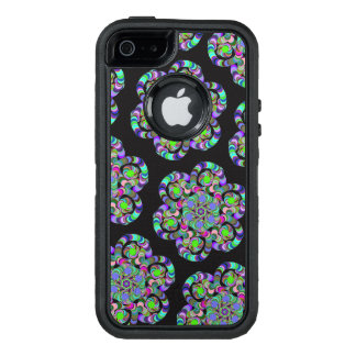 Rainbow Flower OtterBox Defender iPhone Case