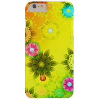 Rainbow Flower Power Barely There iPhone 6 Plus Case