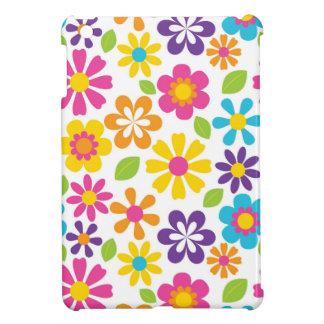 Rainbow Flower Power Hippie Retro Teens Gifts iPad Mini Covers