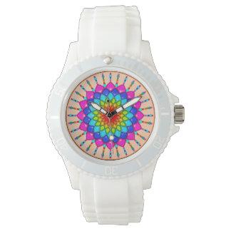 Rainbow Flower Watch