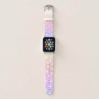 Rainbow Flowers Apple Watch Band