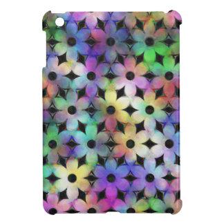 Rainbow Flowers iPad Mini Covers