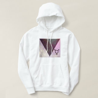 Rainbow forest with Transgender Sign Hoodie