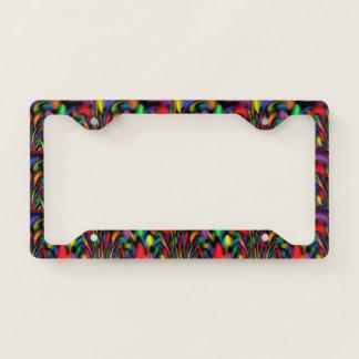 Rainbow Fountain License Plate Frame