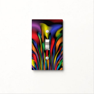 Rainbow Fountain Light Switch Cover
