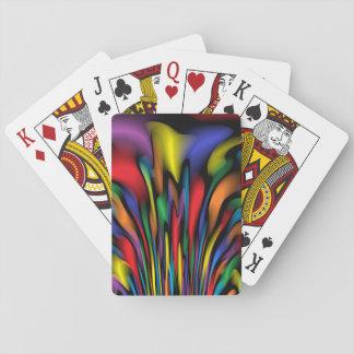 Rainbow Fountain Poker Deck