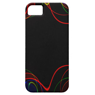 Rainbow fractal #2 iPhone 5 covers