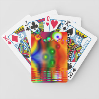Rainbow Fractal Bicycle Playing Cards