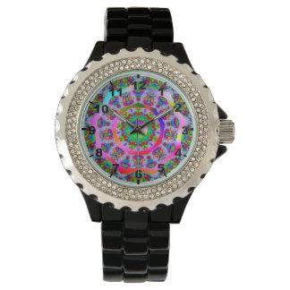 ~ Rainbow Fractal Pattern ~ Watch