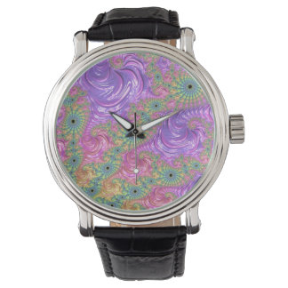 Rainbow Fractal Watch