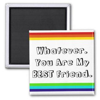 rainbow friendship magnet