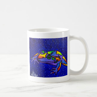 Rainbow Frog by Piliero Coffee Mug