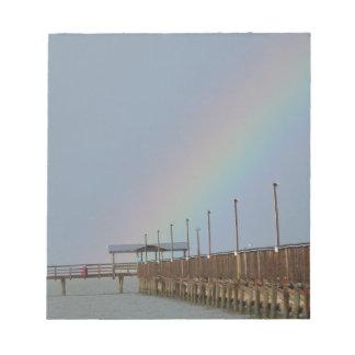 Rainbow, Fulton Fishing Pier Notepad