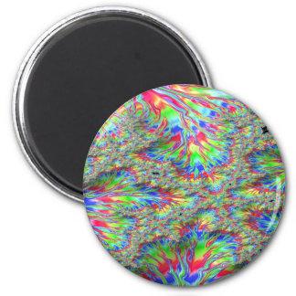 Rainbow Fusion Fractal Magnet