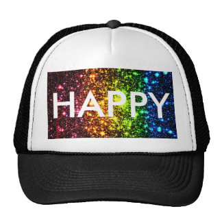 Rainbow Galaxy Trucker Hat