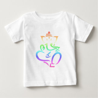 Rainbow Ganesha Baby T-Shirt